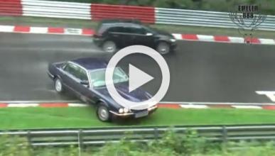 Vídeos: el tremendo peligro de Nürburgring con lluvia