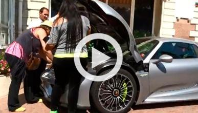El maletero del Porsche 918 Spyder es pequeño
