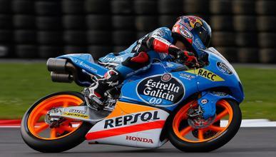 Clasificación Moto3 GP Gran Bretaña 2014: pole para Rins