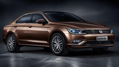 Volkswagen Lamando en China, ¿el futuro Jetta CC?