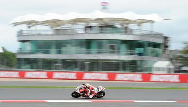Parrilla de salida Moto2 GP Gran Bretaña 2014
