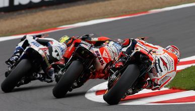 Parrilla de salida MotoGP Gran Bretaña 2014