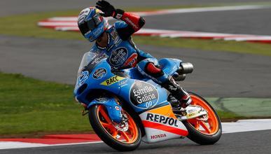Carrera Moto3 GP Gran Bretaña 2014: Rins, primero