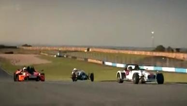 Combate Top Gear: KTM X-BOW vs Caterham y Morgan 3 Wheeler