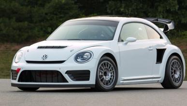Tanner Foust estrena su nuevo VW Bettle de rallycross