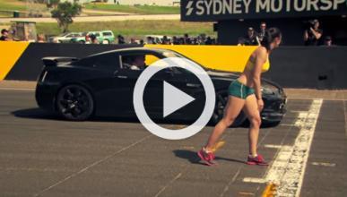 Carrera: Clarkson con un GT-R contra medallista olímpica