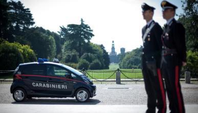 23 Mitsubishi i-MiEV para los Carabinieri