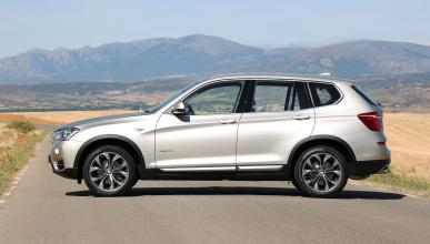 BMW X3 20d xDrive lateral