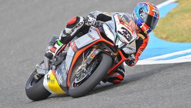 Marco Melandri logra el doblete en SBK Jerez 2014