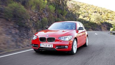 El BMW Serie 1 Sedan cazado en fase de pruebas
