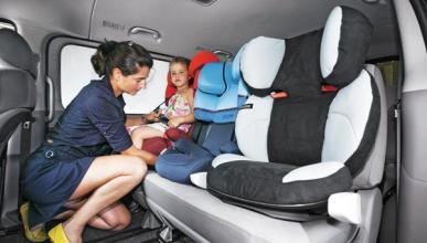 Cinturón y sillitas infantiles: nueva campaña de la DGT