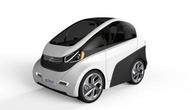 eMOC, un coche modular e inteligente que se adapta a todo