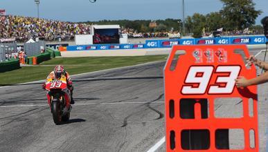 """Márquez sobre Rossi: """"Es el que estaba más fuerte"""""""
