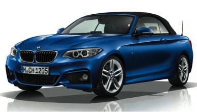 BMW Serie 2 Cabrio M Sport frontal