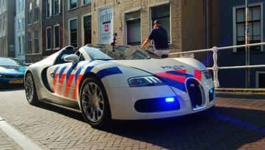¿Un Bugatti Veyron para la Policía holandesa?