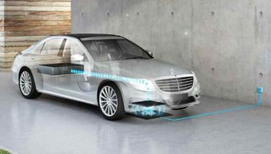 BMW y Mercedes trabajan en un sistema de carga sin cables