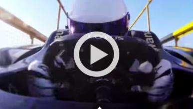 'The Stig' hace puenting con un F1