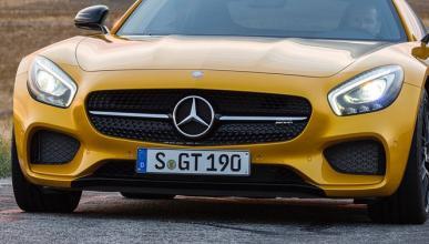 Mercedes AMG GT Edition 1: ¡filtrado!