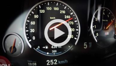Vídeo: así alcanza los 300 km/h un BMW M5 30 Aniversario
