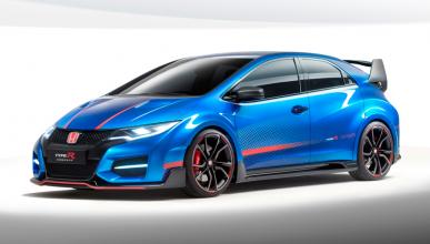 Honda Civic Type R Concept II - Frontal