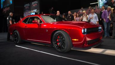 Pagan 650.000 euros por el primer Challenger SRT Hellcat