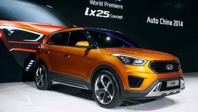 Hyundai ix25: el modelo de serie rodará por París