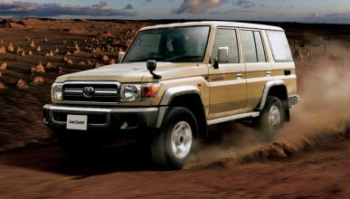 El mítico Toyota Land Cruiser 70 se volverá a fabricar