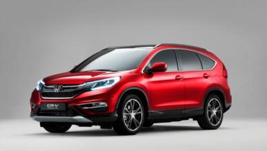 Honda CR-V 2015: cambios estéticos y nuevos motores