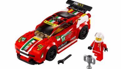 Ferrari La Ferrari, McLaren P1 y Porsche 918 ¡de Lego!