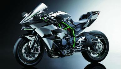 La Kawasaki Ninja H2R se presenta: ¡300 CV y turbo!