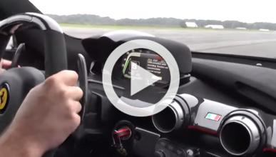 Vídeo: a bordo de un Ferrari LaFerrari a más de 340 km/h
