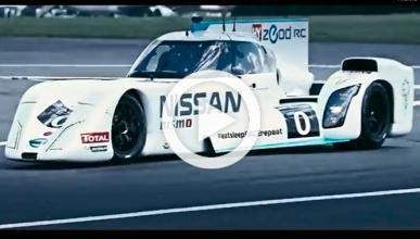 El Nissan ZEOD RC híbrido, en la pista de Top Gear