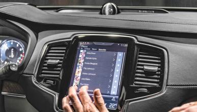 El Volvo XC90 tiene el futuro en su pantalla