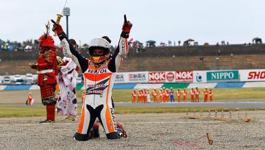 Marc Márquez, bicampeón de MotoGP más joven de la historia