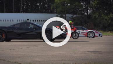 Vídeo: Porsche 918 Spyder 'vs' McLaren P1 y Ducati 1199
