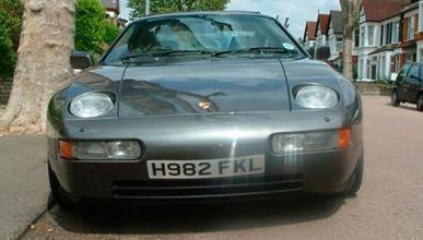 Clarkson no mintió: la matrícula del Porsche 928 era real
