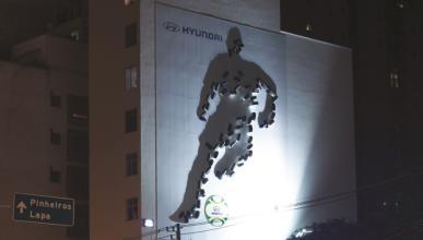 La proyección de sombra más grande del mundo es de Hyundai