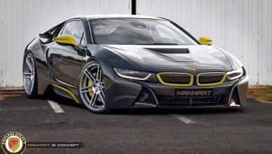 Manhart Racing está preparando un BMW i8 brutal