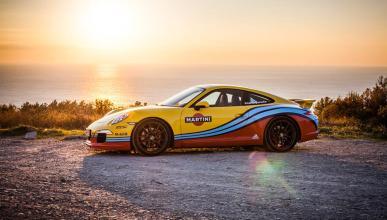 Gama Porsche decoración Martini Racing