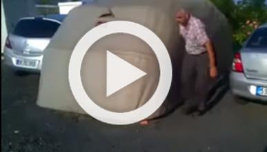 Fabrica una plaza de garaje cubierta para proteger su coche