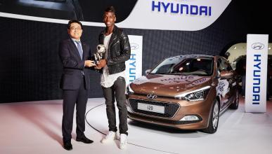 Hyundai corona a Pogba como mejor jugador joven del Mundial