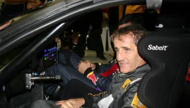 Prost en el Renault RS 01