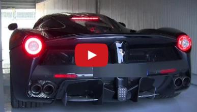 Así suena el Ferrari LaFerrari en modo puramente eléctrico
