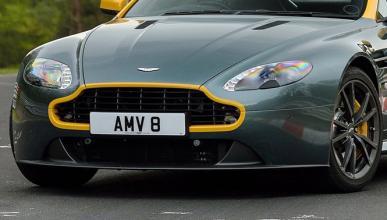 Cazado un misterioso prototipo del Aston Martin Vantage