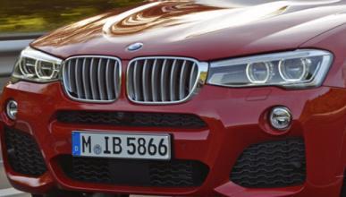 BMW X4 M40i 2015: cazado sin camuflaje