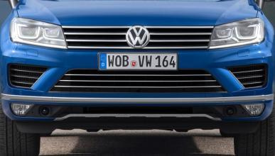 Nuevo Volkswagen Touareg: primeras fotos espía