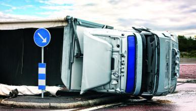 Las furgonetas, principales culpables de los accidentes