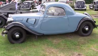 A la venta un Citroën 11B Traction Avant Coupé de 1938