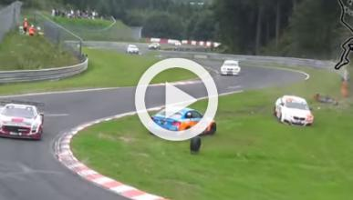 Vídeo: recopilación de accidentes en Nürburgring en 2014