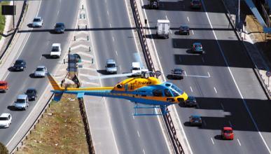 La DGT ya tiene cinco Pegasus, el helicóptero con radar